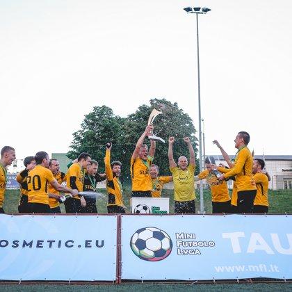 2019 m. MFL taurės laimėtojai - El Dorado. ©Evaldas Jaukauskas