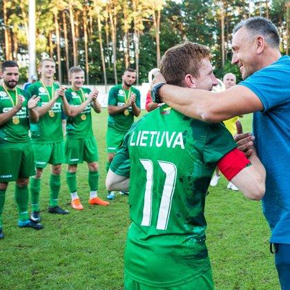 LMFA rinktinė - 2018 m. Baltic CUP nugalėtoja.