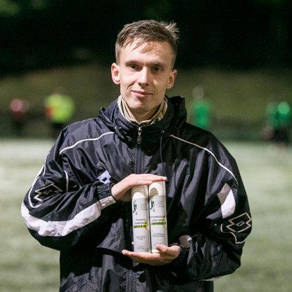 sporto kosmetika Lietuvos mažajo futbolo asociacijai